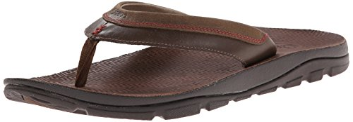 Chaco Men's Kirkwood Flip Sandal, Dark Earth, 11 M US