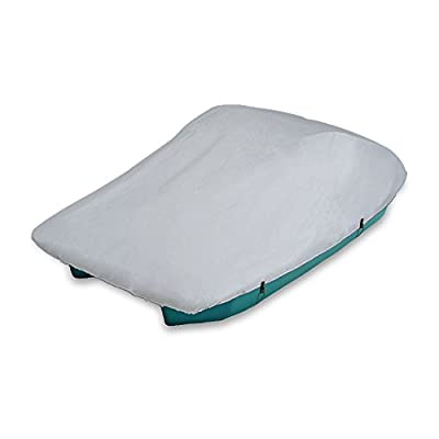 MSC Pedal Boat Mooring and Storage Polyester Cover, Heavy duty, Silver color? Fits Universal 3 or 5 Person Boat