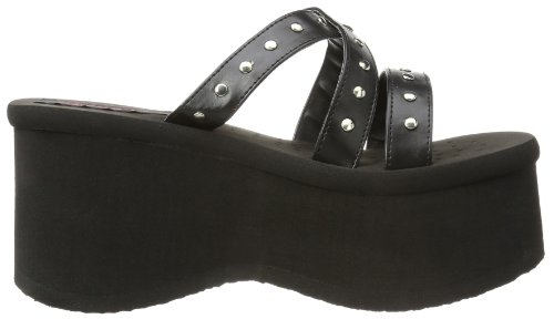 Funn 19 Black Sandals Women's Demonia 4xPdwx