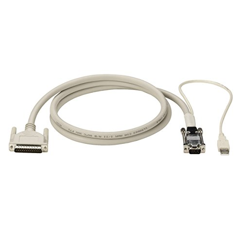 Black Box Kvm Cpu - Black Box KVM CPU Cable DB25 VGA USB Coax 50FT
