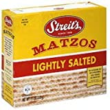 Streits Lightly Salted Matzo, 11 Ounce --24 per case.