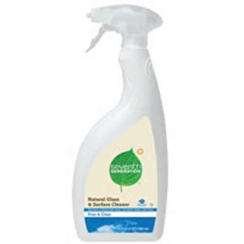 Seventh Generation Natural Glass Cleaner - Free & Clear - 32 oz - 2 pk