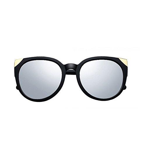 Glasses Color Gafas Retro Cara Redonda DT Sunglasses Gafas 4 Lady Sol Driver de 3 HWwSq1YR