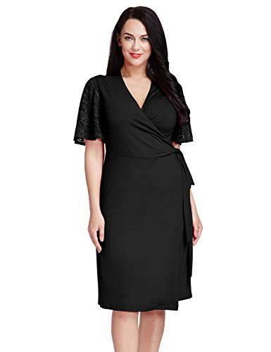 LookbookStore Womens Flutter Sleeves 12W 32W