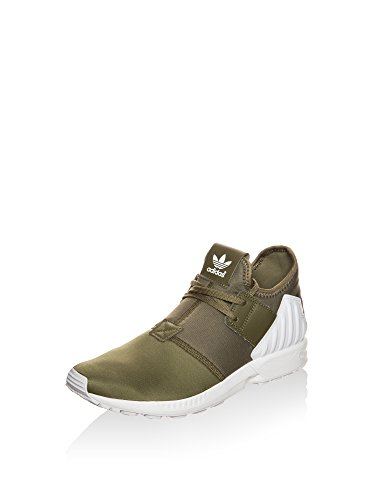 Flux Stringate Zx Uomo Oliva Plus Sneakers Bianco Adidas wn6fx7FX