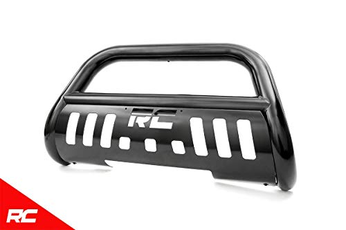Rough Country Black Bull Bar (fits) 1997-2003 F150 (F-150) F250 (F-250) Expedition Push Bar Grille Guard B-F2971