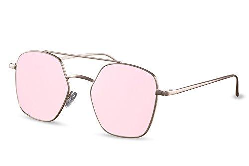 Gafas Sol Metálicas Cheapass UV De Espejadas Ca Diseñador Mujeres Hombres 015 400 Retro OTdBA