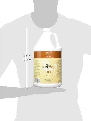 Espana Silk ESP0025E Specially Formulated Silk Protein Shampoo for Horses, 135.28-Ounce by EspanaSILK (Image #2)