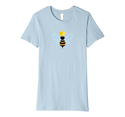 Womens Premium Queen Bee Costume Fitted Shirt for Women and Kids Medium Baby (Queen Bee Infant Costumes)