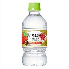 【ミネラルウォーターの新商品】コカ・コーラ い・ろ・は・すあまおう PET 340ml×24本