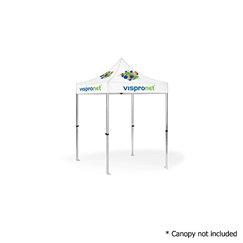Cheap Vispronet – 5ft x 5ft Commercial-Grade Aluminum Tent Frame – Silver Aluminum 5ft x 5ft Canopy Frame