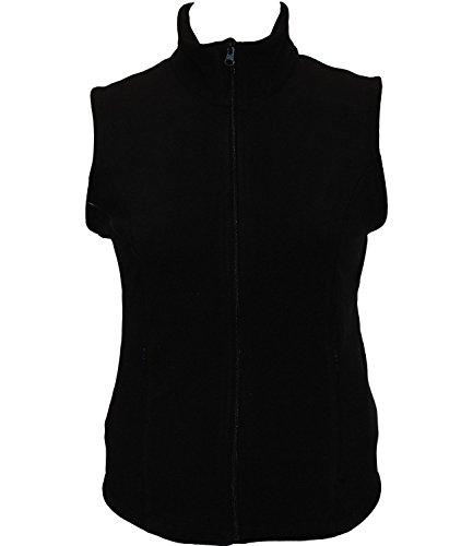 Bollé Women's Essential Polar Fleece Tennis Vest, Black, X-Small