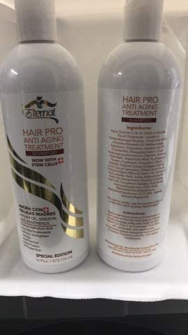 Amazon Com Eternal 2 Shampoos Hair Pro Anti Aging Treatment