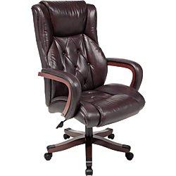 amazon com realspace r carlton executive big tall bonded leather