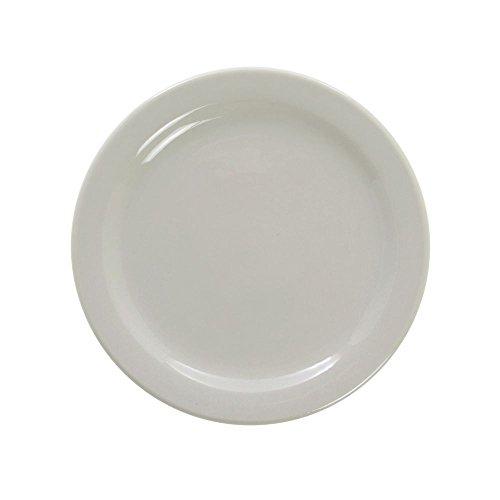 Oneida Buffalo Warm White China Salad Plate -7 1/4