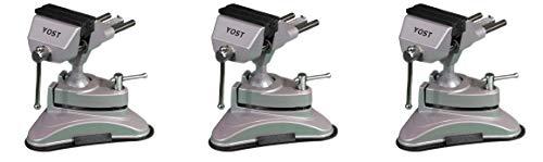 [해외]Yost V-275 Portable Multi-Angle Pivoting Vise 2.75 (1 Pack) (Thrее Расk) / Yost V-275 Portable Multi-Angle Pivoting Vise, 2.75, (1 Pack) (Thrее Расk)