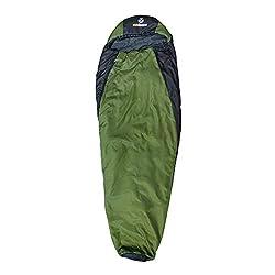 outdoorer Ultraleicht Schlafsack Trek Night - Trekking Schlafsack mit Minipackmaß