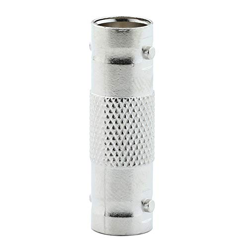 niceEshop(TM) BNC Female To Female Coupler Adapters Converter Connector, Pack of 10(Silver)