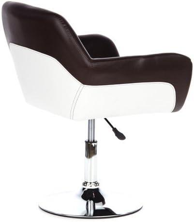 Lounge Chair Corner Ecopelle Marrone