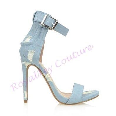65565e58edf3e RoyalTey Light Blue Denim Heels