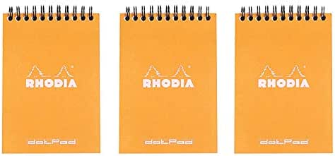 Notebooks: Rhodia A6 Wirebound Pad