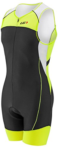 Louis Garneau Men's Comp Tri Suit - Bright Yellow (Louis Garneau Tri Suit)