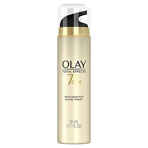 Face Moisturizer by Olay Total Effects 7-In-1 Moisturizer Plus, Mature Therapy, 1.70 Fl. Oz.