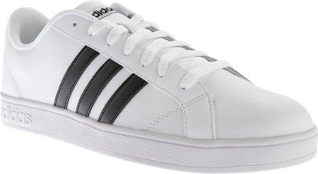 adidas NEO Women's Baseline W Casual Sneaker,White/Black/White,8 M US