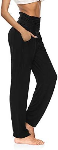 OYANUS Womens Yoga Sweatpants Wide Leg Loose Comfy Lounge Pants Workout Joggers Pants with Pockets 1