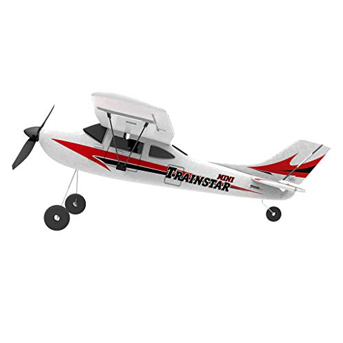 COLOR-LILIJ RC Airplane with 2.4GHz Over 320 ft Control, 6-Axis Gyro, 3-Level Flight Control assists - Help Beginners Learn to Fly Step by Step, Easy to Fly 761-1 RTF Plane for Beginners,US Stock by COLOR-LILIJ (Image #2)