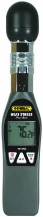 General Tools WBGT8758 Heat Index Monitor