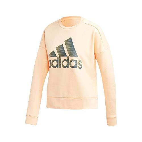 adidas W ID Glam Sweat Vrouwen. Sweatshirt