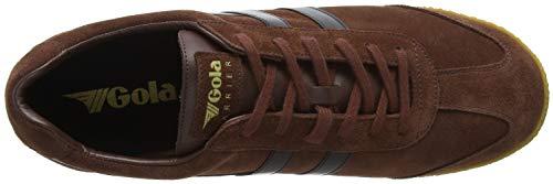 Brown Suede Cognac Gola Sneaker Black Harrier Uomo Rb wOgqPT