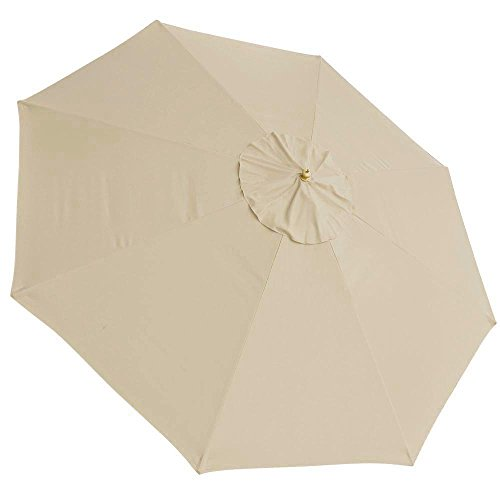 Yescom 13Ft 8 Rib Patio Umbrella Replacement Cover Canopy Outdoor Market Beach Deck Top
