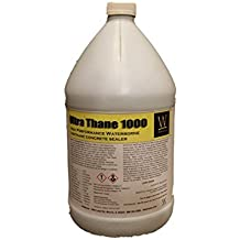 Ultra Thane 1000 | Water-Resistant, UV Resistant, Stain-Resistant Concrete Sealer, Medium Gloss (1 Gal)