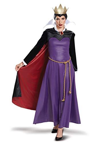 Disguise Women's Plus Size Evil Queen Deluxe Adult Costume, Purple, XL (18-20) -