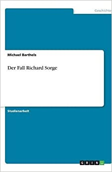 Der Fall Richard Sorge