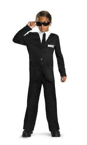 Men In Black 3 Classic Costume, Black/White, Small -