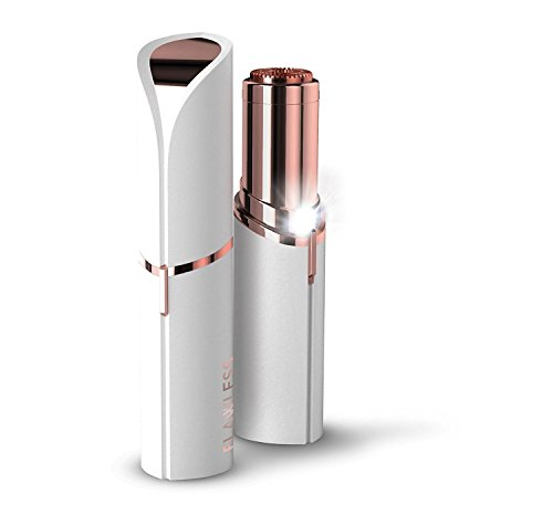 Flawless Finishing Touch Painless Hair Remover For Women's Facial Hair (Battery Not Included)