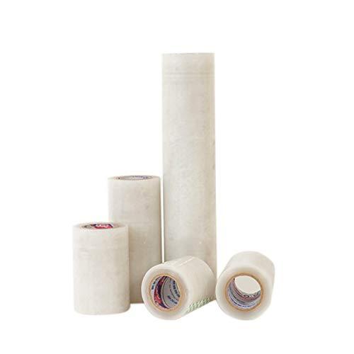 Agfabric- 2.7 x 32ft Greenhouse Plastic Polyethylene Film Plant Cover /&Frost Blanket for Season Extension Repair Tape 6.2mil White 4pack