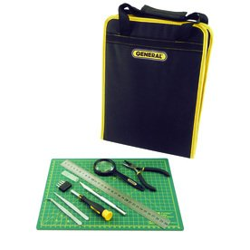 Amazon.com: General 12 Pc. Hobby Tool Kit & Case: Toys & Games