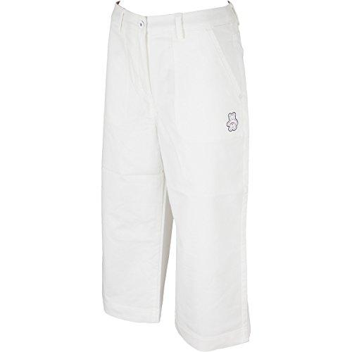 キャロウェイゴルフ Callaway Golf ロングパンツ BEAR ストレッチジンコードワイドパンツ レディス ホワイト 030 SS