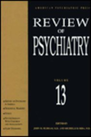 Review of Psychiatry, vol 13