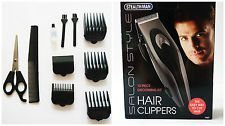 10 Piece Men's Professional Neat Tidy Hair Cutting Clippe...