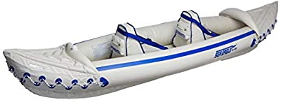 Sea Eagle 330 Pro Inflatable Sport Kayak Canoe Boat with Pumps and Oars