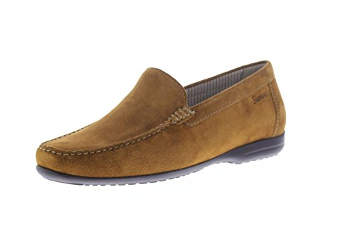 Sioux Men's Gianni-Fs Moccasins, Atlantic Brown