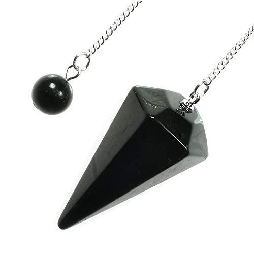 Shungite Crystal Pendulum ()