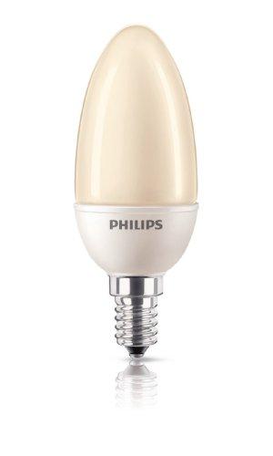 Energiespaarlamp Softone ES Flame Terracotta kaars 5 Watt E14 822 – Philips