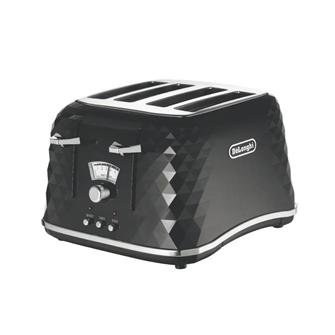 220-240-Hz-50-60-Hz-Delonghi-CTJ4003BK-Brillante-Toaster-FOR-OVERSEAS-USE-ONLY-WILL-NOT-WORK-IN-THE-US