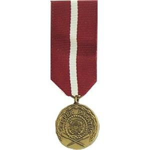 (MilitaryBest Coast Guard Good Conduct Medal - Mini )